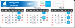 2021 Pay Period Calendar Could Include 27 Paychecks